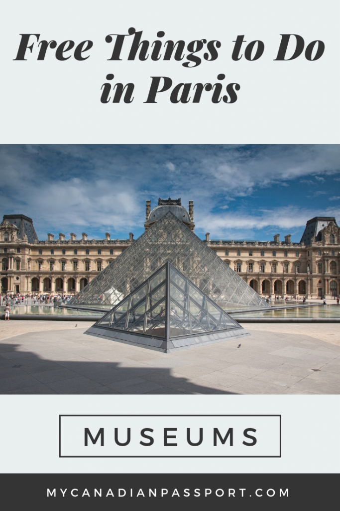 Free Museums in Paris Pin