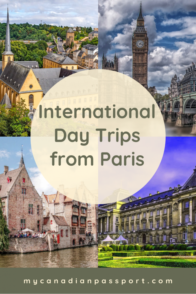 Day Trips from Paris to Other Countries