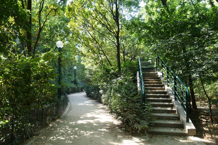 The Promenade Plantée, which is an unusual place for a stroll in Paris