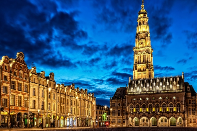 Arras, one of the most beautiful day trips from Paris