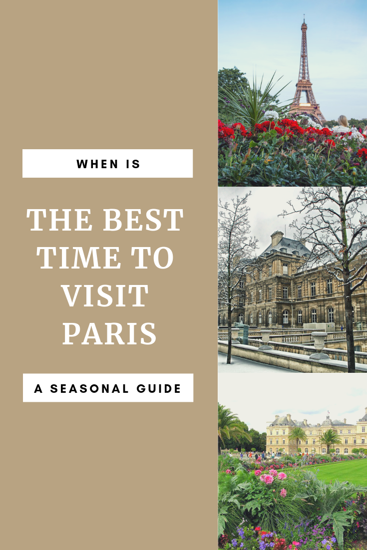 The best time to visit Paris Pin