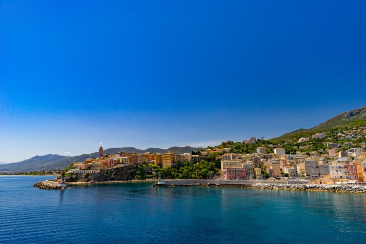 Corsica, one of the 13 regions in France