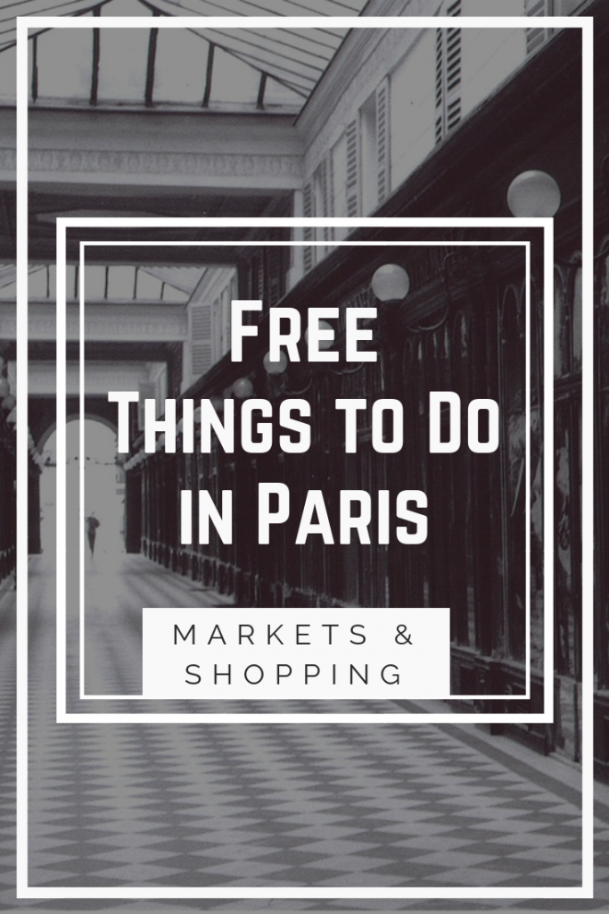 Free Markets & Shopping Things to Do in Paris
