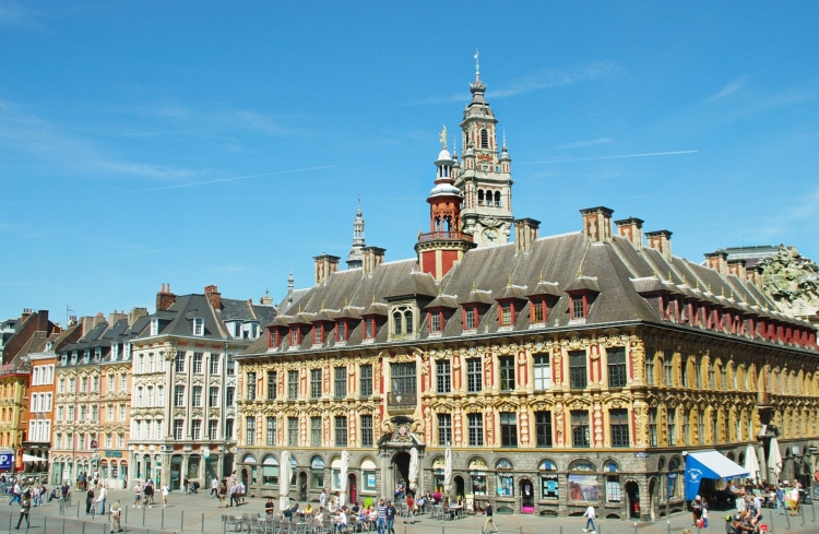 Lille, the capital city of the Hauts-de-France region