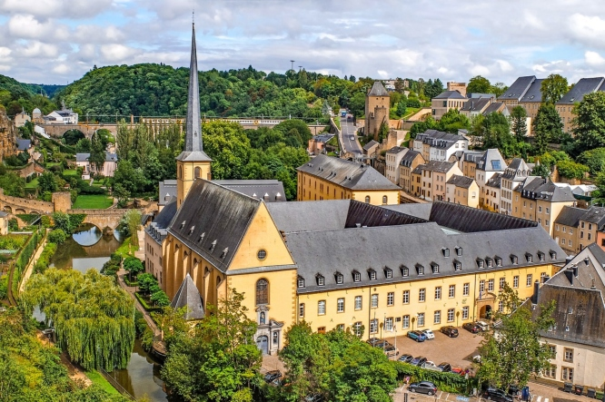 Luxembourg - Day trips from Paris to other countries