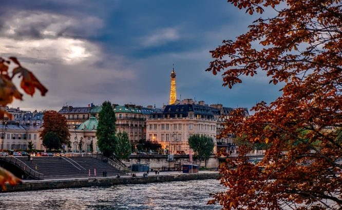 Fall, a great time to visit Paris