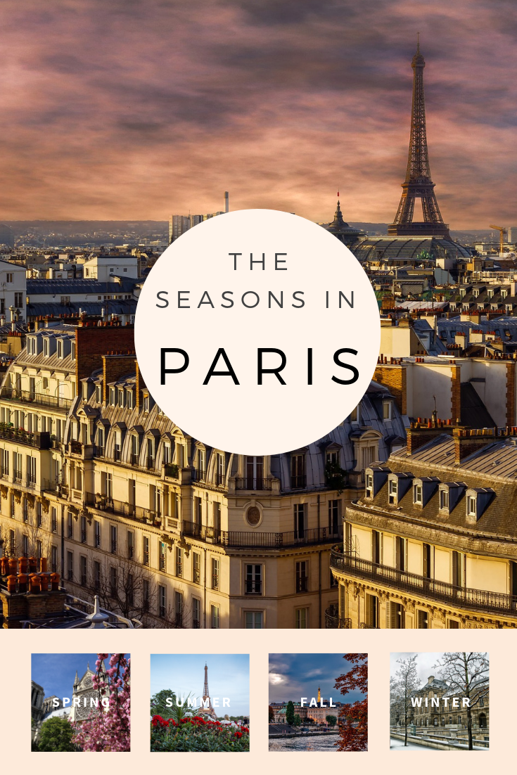 Seasons in Paris Pin