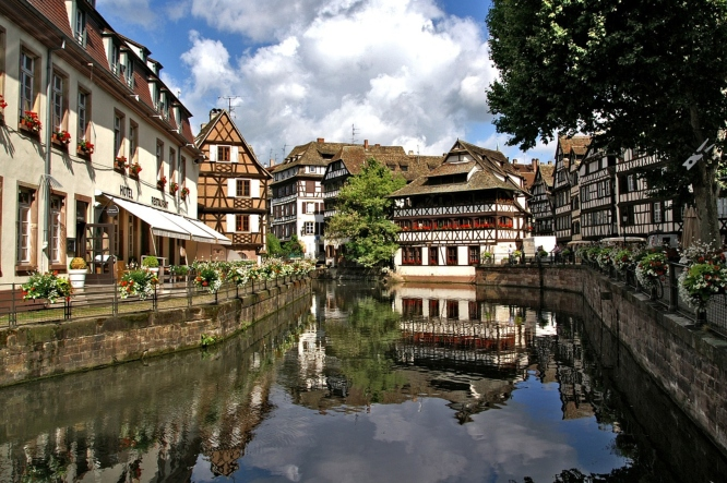 Strasbourg, one of the popular weekend trip destinations from Paris