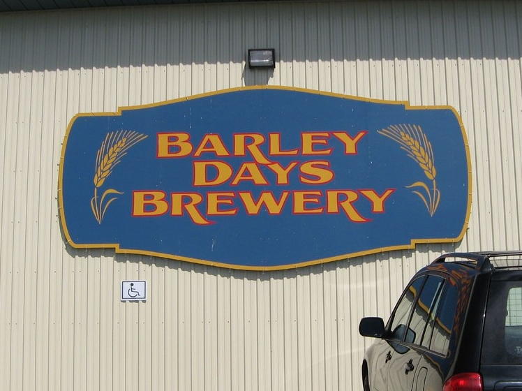 Barley Days Brewery, one of the best breweries in Prince Edward County