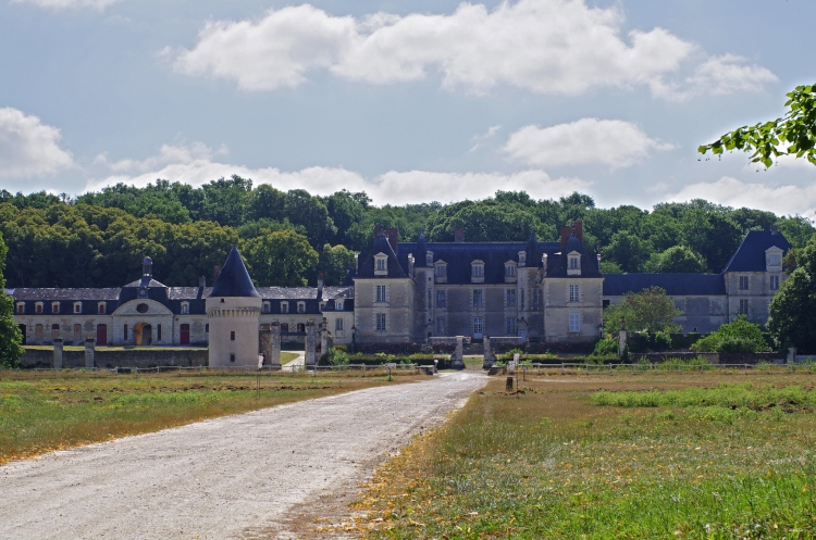 The Château de Gizeux, which is both a Loire Valley hotel and a private residence
