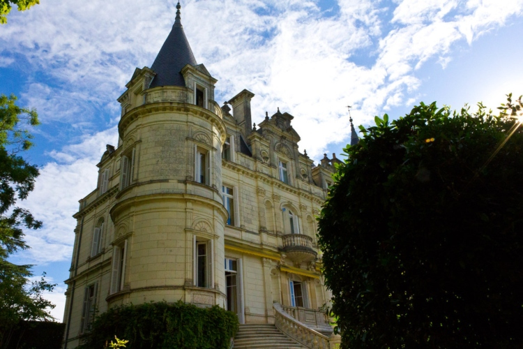 Domaine de la Tortinière, one of the Loire Valley chateau hotels popular with the rich and famous