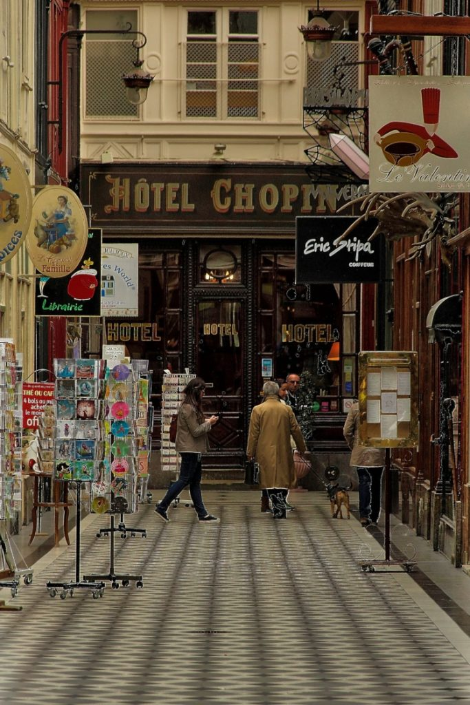 The historic Hotel Chopin in Paris