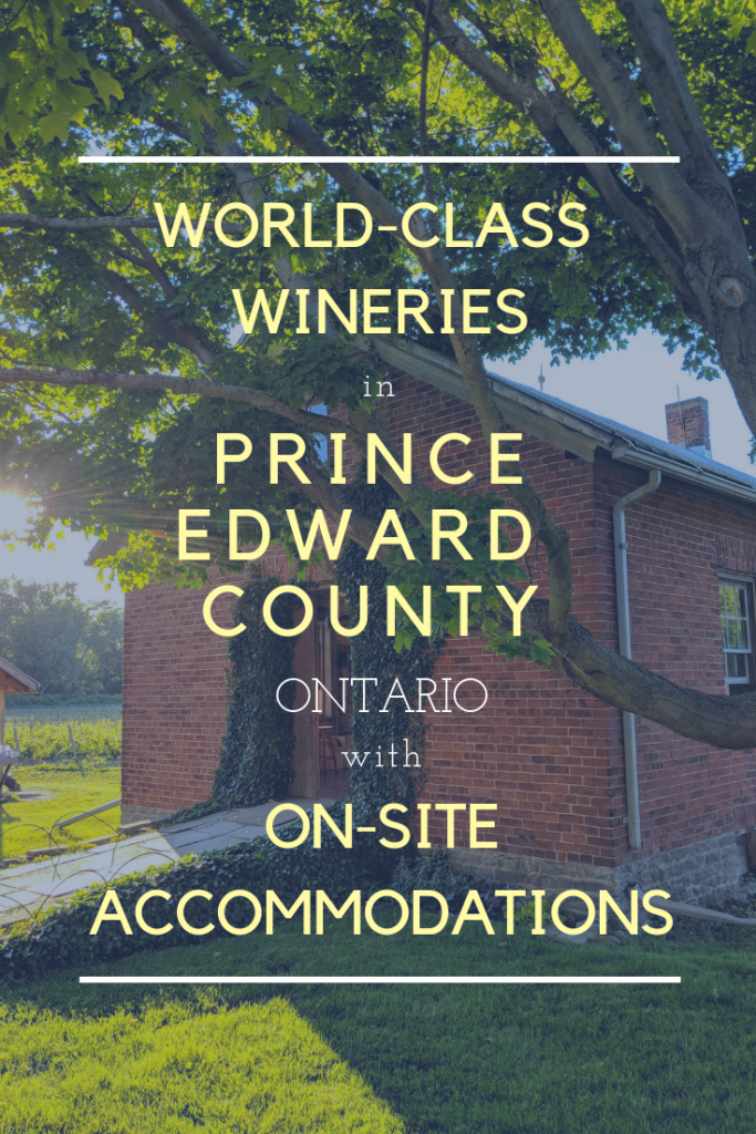 Prince Edward County Accommodations: Wineries Pin
