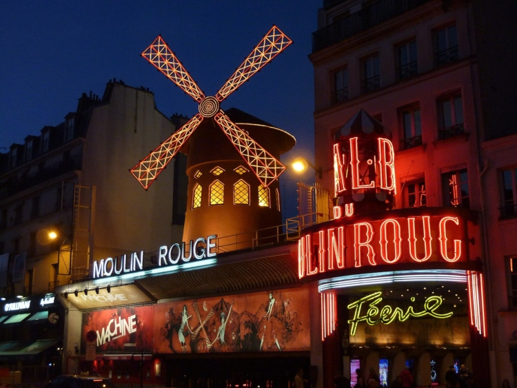 The Moulin Rouge, one of the things to avoid in Paris if you're looking for a genuine experience