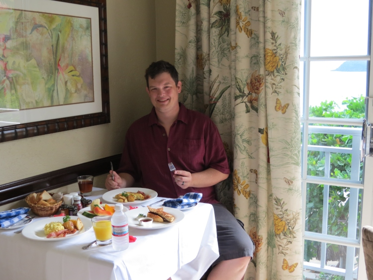 Sandals Royal Plantation room service
