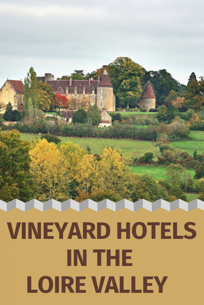 Vineyard Accommodations Loire Valley Pin