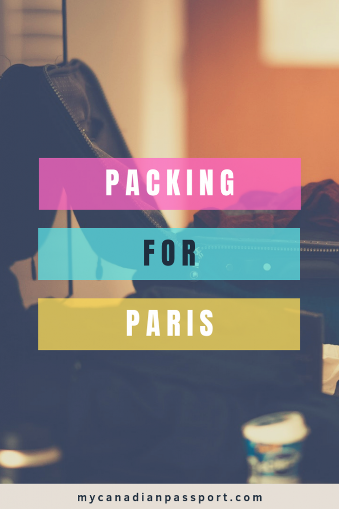 What to Pack for Paris Pin
