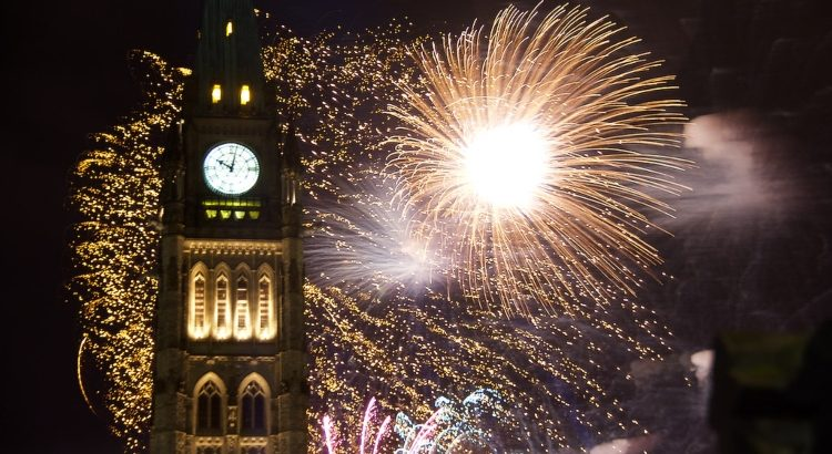 Things to do in Ottawa - Canada Day Fireworks