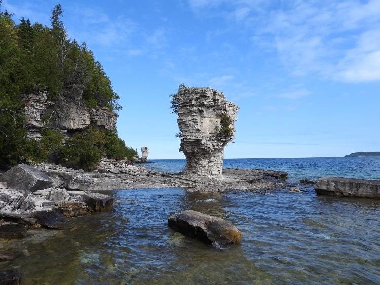 Flowerpot Island, one of Ontario's most unique destinations
