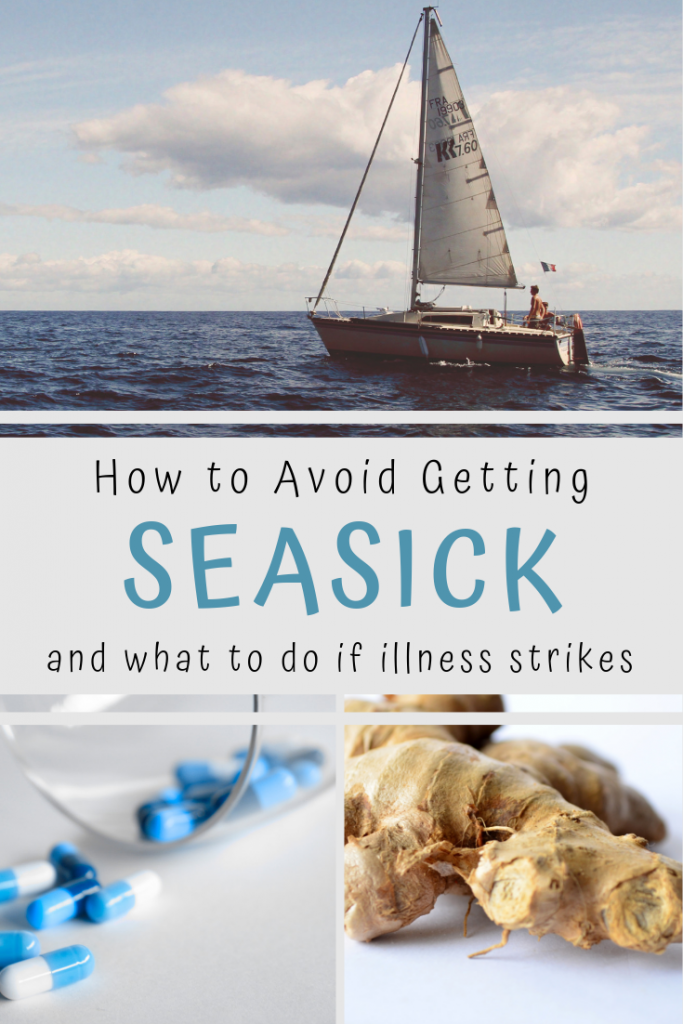 How to not get seasick pin image
