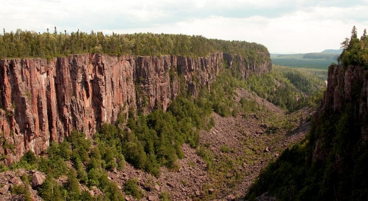 Ouimet Canyon, one of the most unique places to visit in Ontario