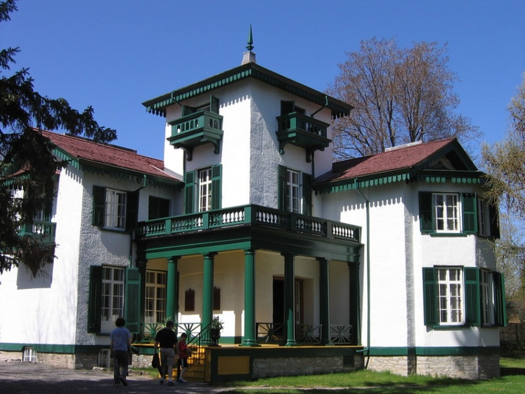 Bellevue House, one of the historical attractions in Kingston