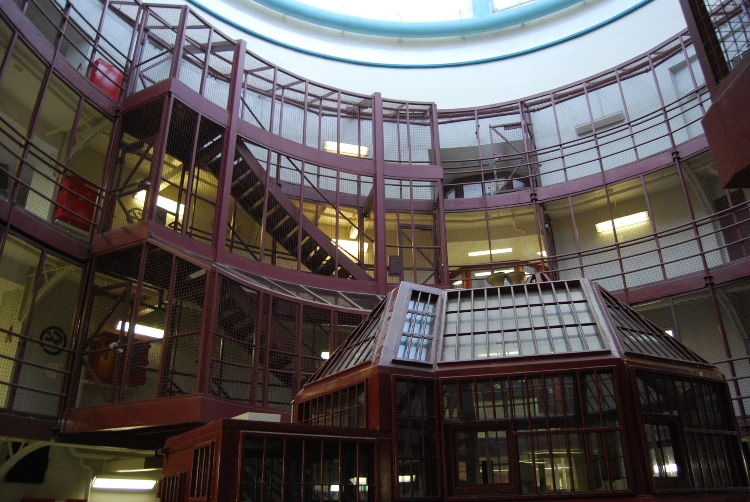 Inside the Kingston Penitentiary dome