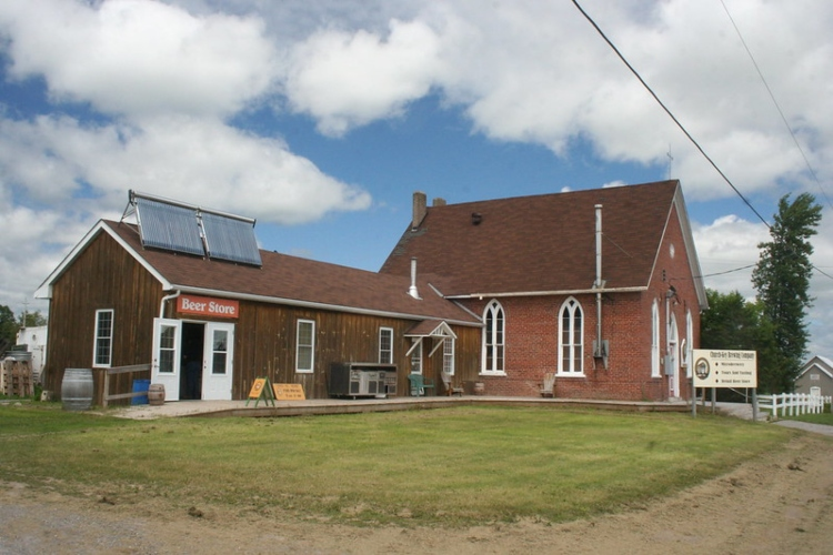 Church-Key Brewery in the Bay of Quinte