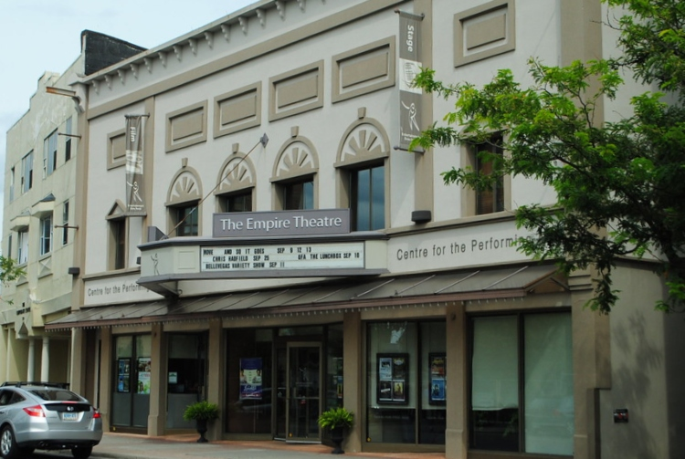 Catch a show, here, at the Empire Theatre, for one of the best things to do in Belleville