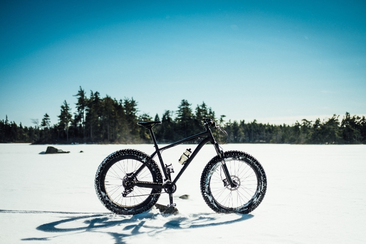 Fat Biking, a popular winter activity in Ontario