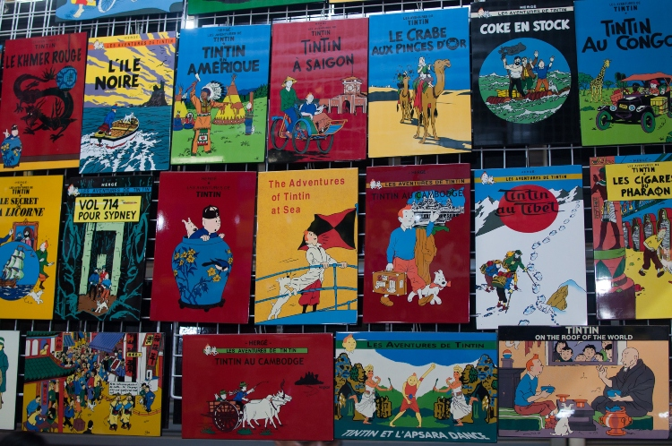 Tintin souvenirs from Paris