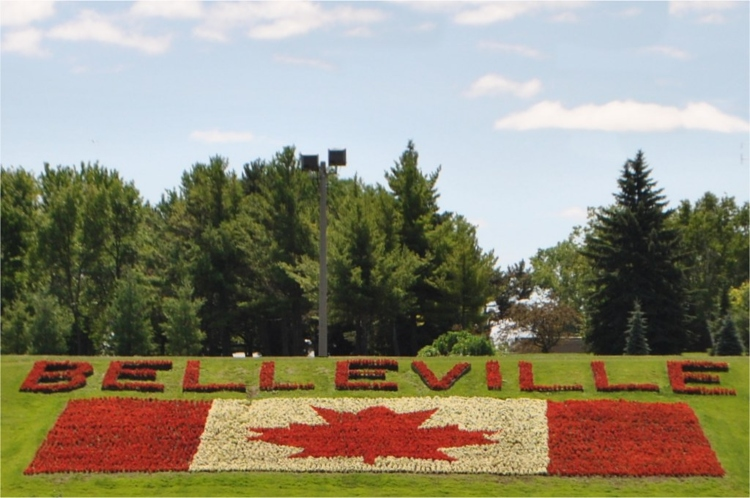 Belleville Flag at Riverside Park