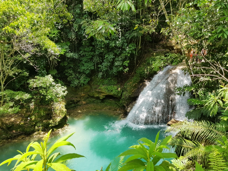 The Blue Hole, which is one of the top things to do in Ocho Rios