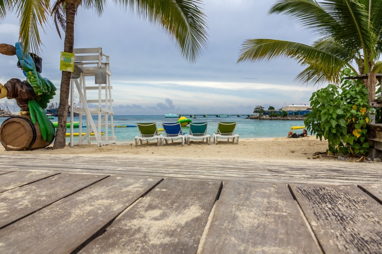 Visiting Turtle Beach, which is one of the top things to do for cruise ship passengers