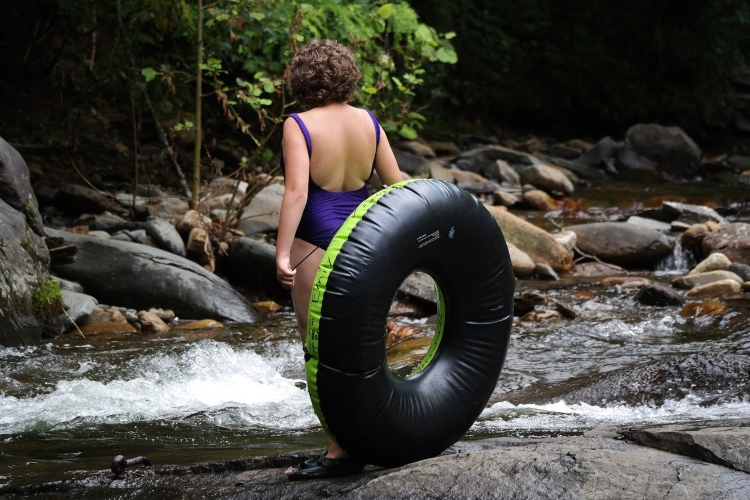 River tubing is a fun thing to do for the whole family in Ocho Rios