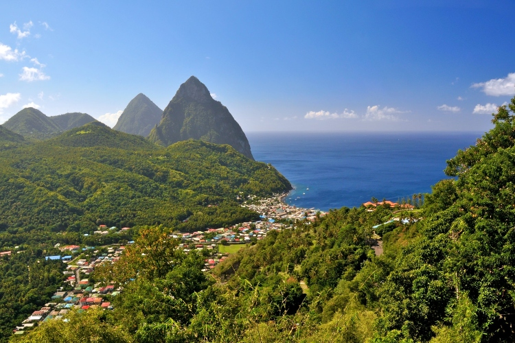 Soufrière - interesting facts about St. Lucia