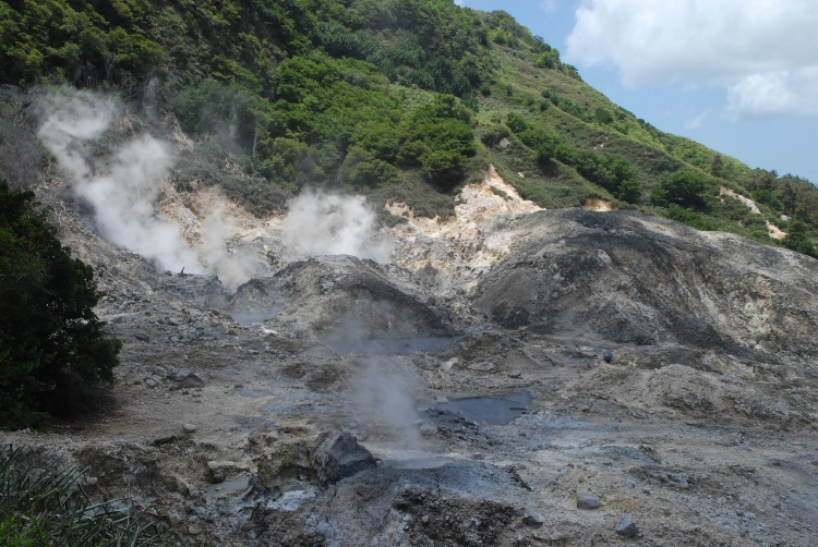 Sulphur Springs Park, an essential thing to do in St. Lucia