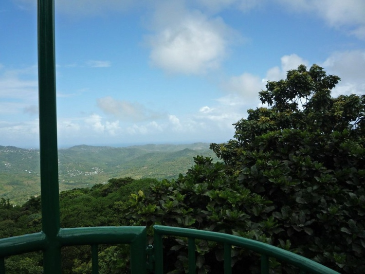 Riding the aerial tram is one of the top-rated things to do in St. Lucia