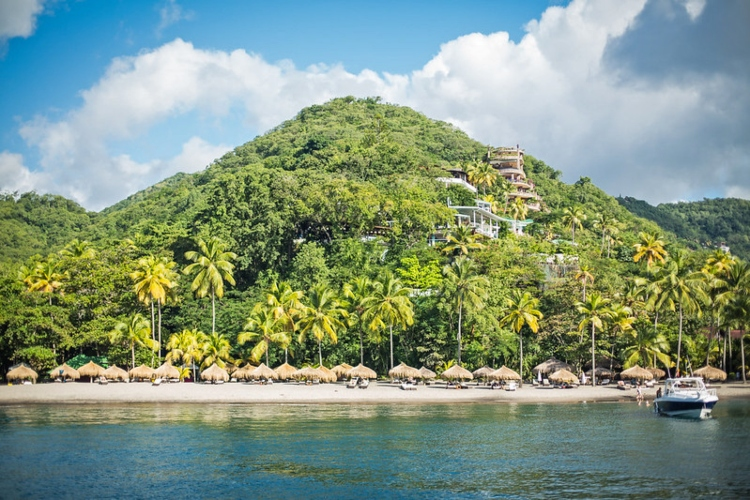 Visiting Anse Chastanet, one of the most beautiful things to do in St. Lucia